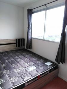 For RentCondoSamrong, Samut Prakan : W0855 For rent, Lumpini Mixx Thepharak-Srinakarin, Studio 1 bathroom Size 22 sq.m, Building B4, 8th floor, fully furnished