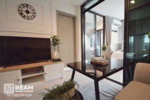 For RentCondoRama9, RCA, Petchaburi : LI078_P💖Life Asoke Hype💖**beautiful room, fully furnished, ready to move in**near MRT Rama 9