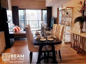 For RentCondoSukhumvit, Asoke, Thonglor : LA005_P💖The Lofts Asoke💖**beautiful room, fully furnished, ready to move in**nice view, no block