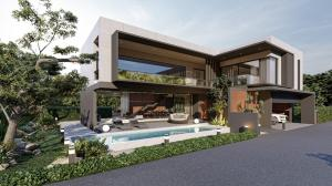 For SaleHousePattaya, Bangsaen, Chonburi : New Luxury Modern Pool Villa in Pattaya  (location Huay Yai)