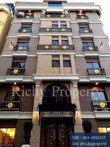 For SaleBusinesses for saleWongwianyai, Charoennakor : HC015 Hotel for sale, hostel for sale, near BTS Wongwian Yai near BTS Wongwian Yai Krungthonburi Road, near Sathorn