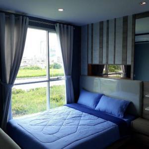 For RentCondoBangna, Lasalle, Bearing : Condo for rent, Lumpini, Mega City, Bangna, next to the main road Bangna-Trad.