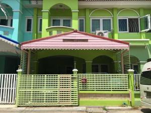 For SaleTownhouseBangbuathong, Sainoi : NH_01046 Townhouse for sale Village Siriwan Chuanchom Bang Kruai-Sai Noi