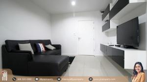 For RentCondoRama9, RCA, Petchaburi : JY-R00145-For Rent Aspire Rama 9 , building B, 23rd floor, 39sq.m., 1 Bed 1 Bath, Near MRT Rama 9 – 400 meter