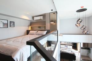 เช่าคอนโดสะพานควาย จตุจักร : For Rent 租赁式公寓 The Reserve Phahol- Pradipat (Duplex )40sq.m. 23,000 THB Tel. 065-9899065