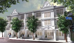 เช่าตึกแถว อาคารพาณิชย์สยาม จุฬา สามย่าน : อาคารพานิชย์ 3 ชั้น ปรับปรุงใหม่ให้เช่า ใกล้จุฬา สามย่าน สีลม
