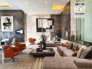 For RentCondoSukhumvit, Asoke, Thonglor : 2 Bedrooms Unit For Rent 400 m. to BTS Asoke And MRT Sukhumvit