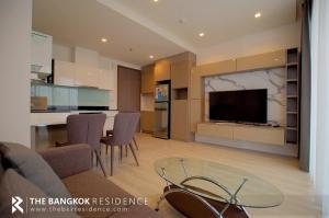 เช่าคอนโดรัชดา ห้วยขวาง : เช่าราคาดี!! ห้องใหญ่ สวย สไตล์ Modern Luxury ติด MRT สุทธิสาร เพียง 400 เมตร - Quinn Condo Ratchada @ 17,000 บาท/เดือน