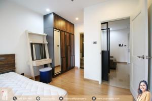 For RentCondoRatchadapisek, Huaikwang, Suttisan : JY-R00105-For rent Condo Supalai Wellington 2 Thiam Ruammitr Road, Bluding 3 on 4th floor 42sq.m. 1bed, 1bath