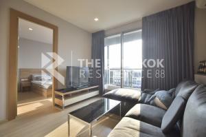 For RentCondoRatchadapisek, Huaikwang, Suttisan : Best Deal!! Condo for Rent Large Room Fully furnished Near MRT Huai Khwang - RHYTHM Ratchada-Huaikhwang @ 17,000 Baht/Month