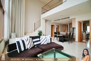 เช่าคอนโดสุขุมวิท อโศก ทองหล่อ : JY-R00150-For Rent THE EMPORIO PLACE, Building North, 30th floor, 126sq.m., Duplex 2 Bed 2 Bath, Near BTS Phrom Phong