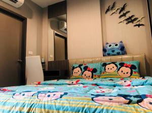 For RentCondoThaphra, Talat Phlu, Wutthakat : Condo Ideo Thaphra Interchange @MRT Blue Line Thaphra Station 27.5 sq.m 1 Bedroom 11th floor, Fully furnished
