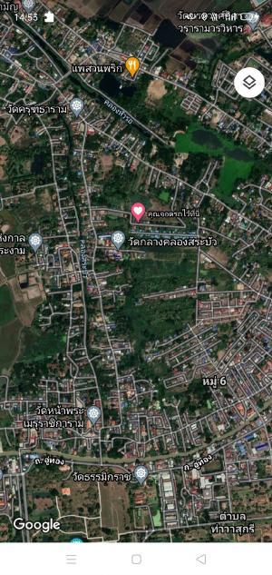 For SaleLandAyutthaya : ขายที่ดินทำเลดีในพระนครศรีอยุธยา คลองสระบัว ใกล้สถานที่ทองเที่ยวต่างๆในพระนครศรีอยุธยา