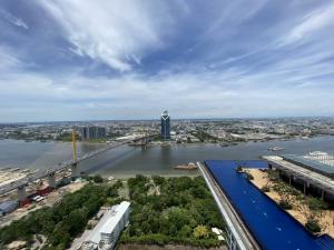 ขายคอนโดพระราม 3 สาธุประดิษฐ์ : ขาย คอนโด StarView พระราม 3 ชั้นเหนือสระ วิวแม่น้ำ