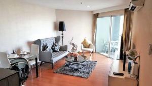 เช่าคอนโดพระราม 9 เพชรบุรีตัดใหม่ : R11013 Nice Unit For Rent type 1 bed 1 bath 49sqm 12th floor at Condo Belle Grand Rama9