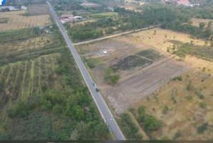 ขายที่ดินนครนายก : SLJ0057ขายที่ดินติดถนน คลอง15ใกล้ถนนรังสิต-นครนายก500 เมตร เนื้อที่  5ไร่155ตารางวา