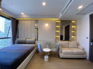 For RentCondoSiam Paragon ,Chulalongkorn,Samyan : [ For Rent ] Ashton Chula-Silom, MRT สามย่าน, BTS สีลม, Studio 26 ตร.ม., ชั้นสูง