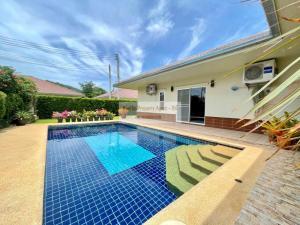 For SaleHouseHua Hin, Prachuap Khiri Khan, Pran Buri : Very Spacious As New 2 Bed Pool Villa Next To Beautiful Famous Khao Kalok Beach-Pranburi-HuaHin -Thailand