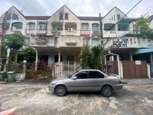 For SaleTownhousePattanakan, Srinakarin : บ้านทาวเฮ้าส์ 3 ชั้น  มบ.ลลิลกรีนวิลล์ ซ.ศรีด่าน22