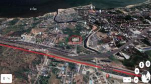 For SaleLandPattaya, Bangsaen, Chonburi : Urgent Sale !! Land in Sri Racha, Chon Buri, 2-3-33 Rai