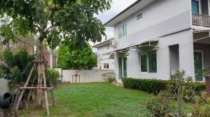 ขายบ้านราษฎร์บูรณะ สุขสวัสดิ์ : ขายบ้านเดี่ยวสภาพใหม่รั้วบ้านติดคลอง