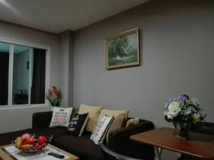 For RentCondoRatchadapisek, Huaikwang, Suttisan : M3739-Condo for rent, Lumpini Ville, Cultural Center, near Huai Khwang MRT, renovated New paint, complete electrical appliances ready to move in