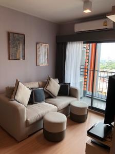 For RentCondoOnnut, Udomsuk : Ideo Sukhumvit 93 2bed 53sqsm fully furnished high floor for rent