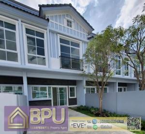 For RentTownhouseBangna, Lasalle, Bearing : ** Pets friendly 2 Bedrooms Townhome for Rent ** Indy Bangna-Ramkhamhaeng2 Near Mega Bangna