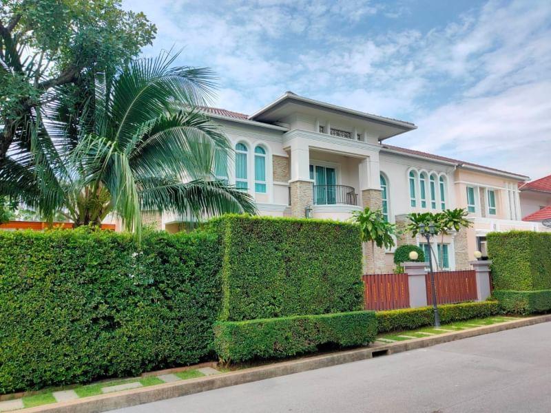 ขายบ้านปิ่นเกล้า จรัญสนิทวงศ์ : 6409-354 ขาย บ้าน สาทร ปิ่นเกล้า Grand Bangkok Boulevard 4ห้องนอน หลังมุม ตกแต่งนำเข้าจาก Italy