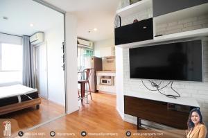 For RentCondoRama9, RCA, Petchaburi : JY-R00112 -For rent Lumpini Park Rama 9 1bed, 1bath, 26sq.m., Bluding A 6th floor Nice decoration