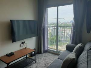 เช่าคอนโดรัชดา ห้วยขวาง : Condo for RENT at Noble Revolve Ratchada 1 1 Bedroom 1 Bathroom Size 26 sqm. on 16th floor , cheap price 12,500 baht