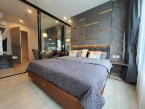 For RentCondoRama9, RCA, Petchaburi : 🔥Risa00947 Condo for rent, life asoke, 30 sqm, 27th floor, beautiful, ready to move in, only 16,000 🔥
