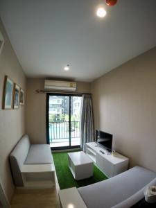 For RentCondoThaphra, Wutthakat : For rent  The Parkland Phetkasem-Thapra  - 2Bed , size 47 sq.m., Beautiful room, fully furnished.