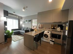 For RentCondoOnnut, Udomsuk : For Rent Condo Ideo Sukhumvit93 near BTS Bangjak 90 M. 2 Beds Fully Furnished with good view and location.
