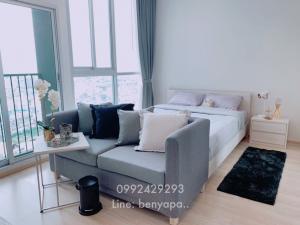 เช่าคอนโดรัชดา ห้วยขวาง : Noble Revolve for rent Studio room 11,000/ month