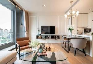 For RentCondoSukhumvit, Asoke, Thonglor : 🔥Risa00919 Condo for rent, Beatniq, Sukhumvit 32, 54.39 sqm, 19th floor, has a beautiful bathtub, ready to move in. Only 62,000 baht 🔥