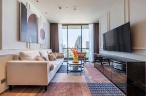 For RentCondoSukhumvit, Asoke, Thonglor : 🔥Risa00944 Condo for rent, Beatniq Sukhumvit 32, 2 bedrooms, 80.26 sqm, 27th floor, 85,000 baht, negotiable 🔥