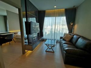 For RentCondoRama9, RCA, Petchaburi : 🔥Risa00922 Condo for rent, Life asoke rama9, 58 sqm, 30th floor, Building A, 2 bedrooms, ready to move in. 38,000 baht, ready to stay, negotiable 🔥