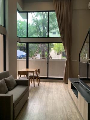 เช่าคอนโดสาทร นราธิวาส : Blossom Condo Sathorn Duplex room 48Sqm for rent
