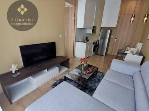 For RentCondoSukhumvit, Asoke, Thonglor : CONDO FOR RENT  Noble Recole Sukhumvit 19 Size : 34.37 sqm. 1 bedroom, 1 bathroom on 22nd  floor , rental 19,000 baht/month
