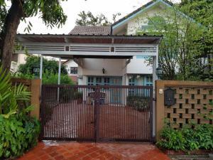 For RentHouseMin Buri, Romklao : 2 storey detached house for rent, Soi Ramkhamhaeng 110, beautiful house, good condition