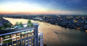 ขายดาวน์คอนโดปิ่นเกล้า จรัญสนิทวงศ์ : ขายขาดทุน IDEO CHARAN 70 Riverview !!!1 bd room ชั้น 25 วิวรัฐสภา