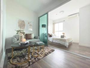 For SaleCondoBangna, Bearing, Lasalle : W0867 Condo for sale, A Space ME Bangna, 1 bedroom 1 bathroom Size 26 square meters, 18th floor, fully furnished