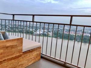 เช่าคอนโดพระราม 3 สาธุประดิษฐ์ : U Delight Residence Riverfront : 2 Bedrooms⚡️คอนโดหรู ริมเจ้าพระยา วิวกลางคืนกินขาด ⚡️Top Floor 💥รีบจองด่วน💥