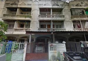 For SaleTownhouseBangna, Bearing, Lasalle : sell 3 storey townhouse near BTS bearing station 500 meter in soi sukhumvit 105