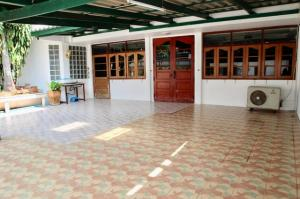 เช่าบ้านมีนบุรี-ร่มเกล้า : HR764ให้เช่าบ้านเดี่ยว 2 ชั้น หมู่บ้านพฤกษาชาติ รามคำแหง 118 พร้อมอยู่