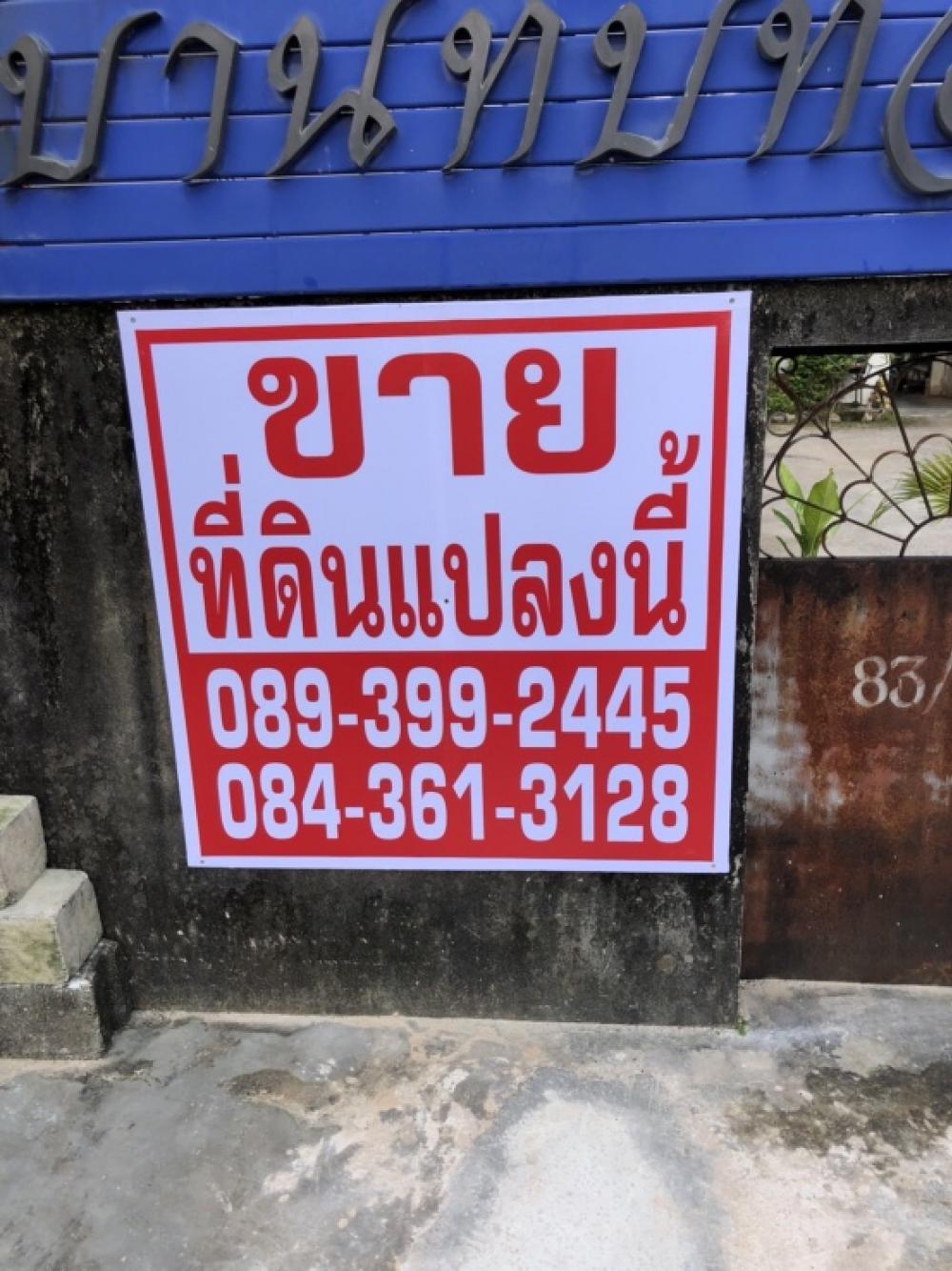 For SaleLandRanong : ขายที่ดิน กลางใจเมืองระนอง 220 ตรว