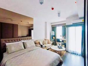 For RentCondoOnnut, Udomsuk : Special price!! Studio Nice decoration @ Ideo Sukhumvit 93
