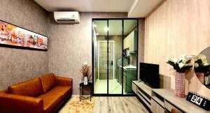 เช่าคอนโดรามคำแหง หัวหมาก : For Rent Knightsbridge Collage Ramkhamhaeng (23.5 sqm.)
