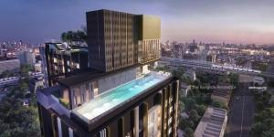 For SaleCondoOnnut, Udomsuk : 2B2B Best Price!!!  Life Sukhumvit 62 @6.7MB - Best Location High Floor Condo for Sale near BTS Bang Chak